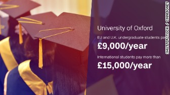 brexit graduation costs