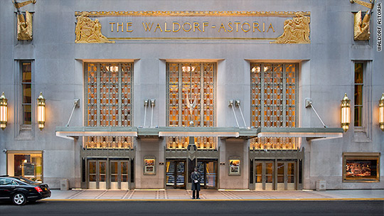 Waldorf Astoria's Chinese buyer's radical plan
