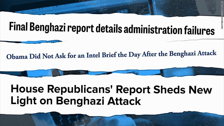 benghazi clinton headlines