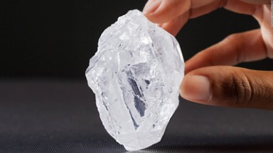 The world's largest uncut diamond goes on sale