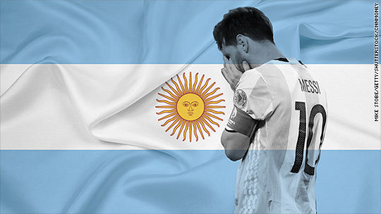After Messi exits, Argentina's really bad week worsens