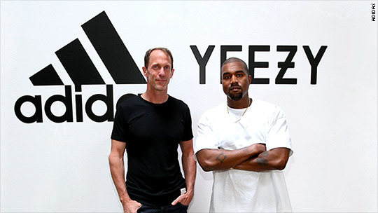 Adidas and Kanye West are sticking together