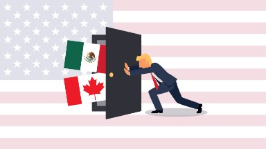 Draft memo offers first look at Trump's plans for NAFTA