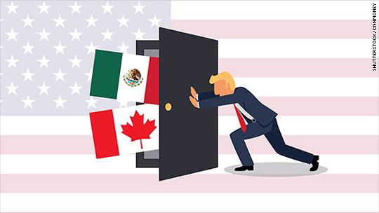 The NAFTA teardown: Here's where Trump could start