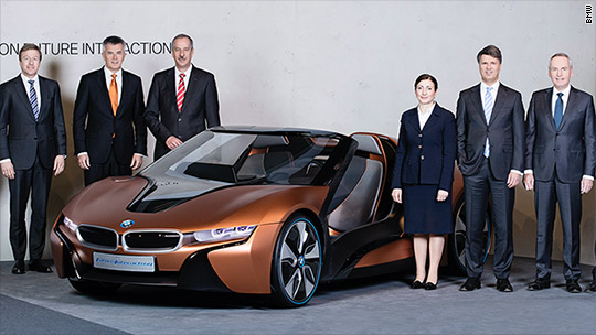 BMW promises fully driverless cars by 2021