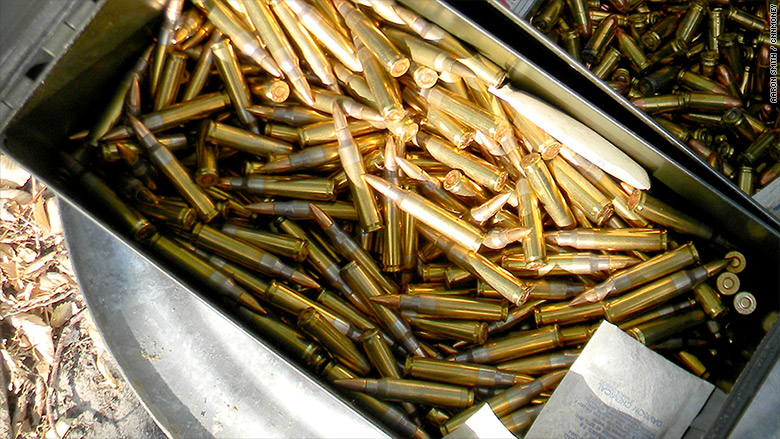 Ammunition imports shoot up nearly 50 democratic for Amo manufacturing spain