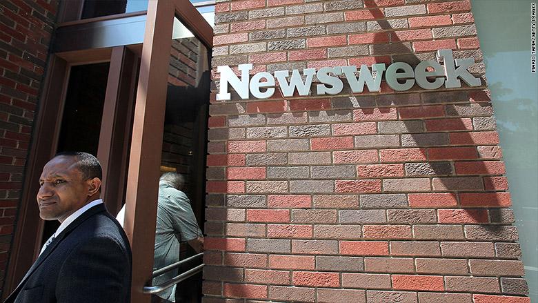 newsweek layoffs