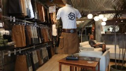 Utilikilts makes kilts with pockets and belt loops in Seattle shop