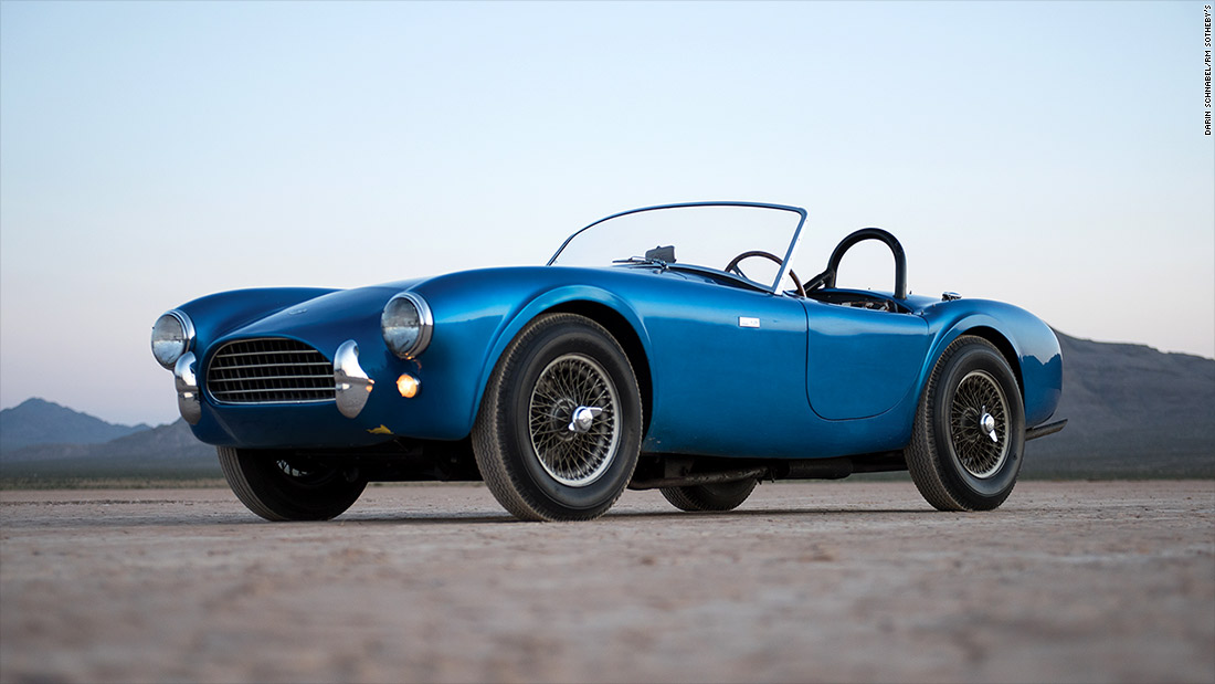 changing gears   shelby cobra most valuable american car