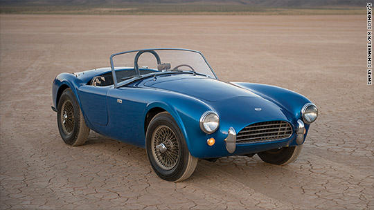 Jaguar and Shelby Cobra set world records at auction