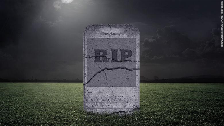 BlackBerry is still on life support