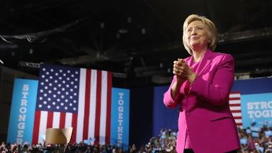 Clinton suddenly sounds a lot like Trump on trade