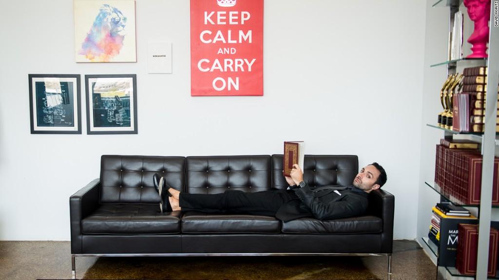 Meet the man behind MTV's Moon Man