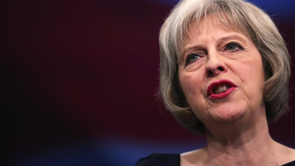 Theresa May: Brexit is for real