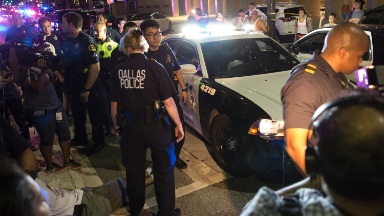 How it happened: watching the media's coverage of Dallas shooting