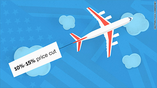 Flights to U.K. cheapest in years