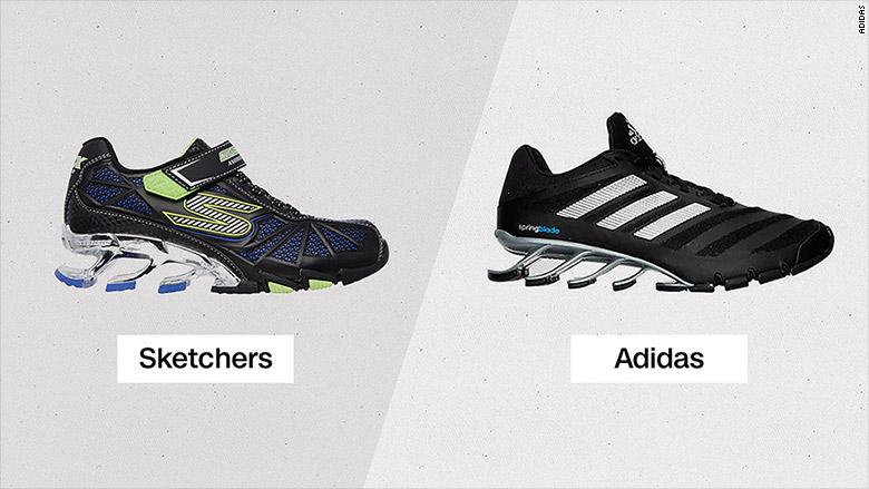 sketchers adidas complaint