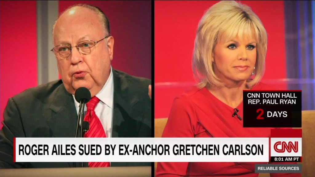 Roger Ailes sued by fired Fox News host Gretchen Carlson
