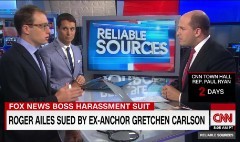 The legal aspects of Carlson's lawsuit