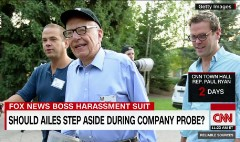 Tensions between Murdoch sons and Ailes?