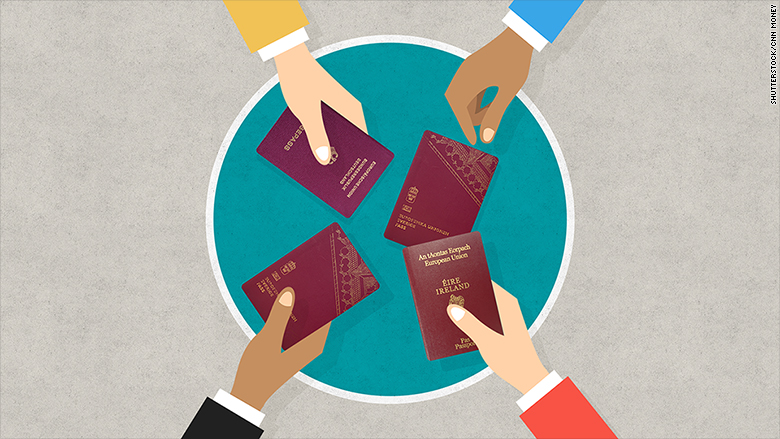 brexit race to european passports