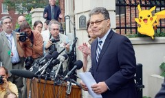 Al Franken is worried about Pokemon Go players' privacy