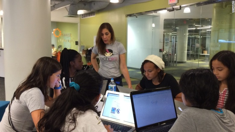techgirlz camp