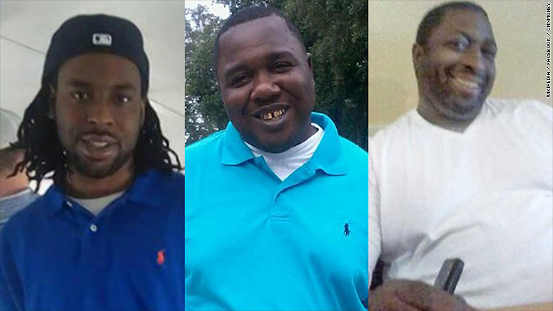 police shootings castile sterling garner