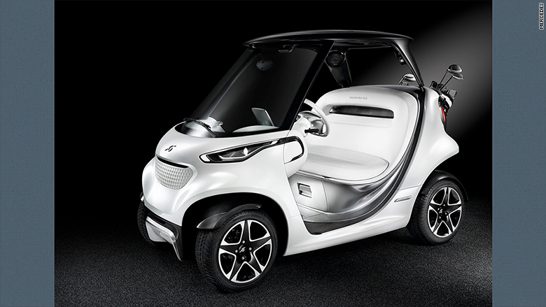 mercedes unveils posh luxury golf cart jul 14 2016