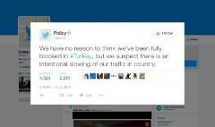 Social media throttled during Turkey coup attempt