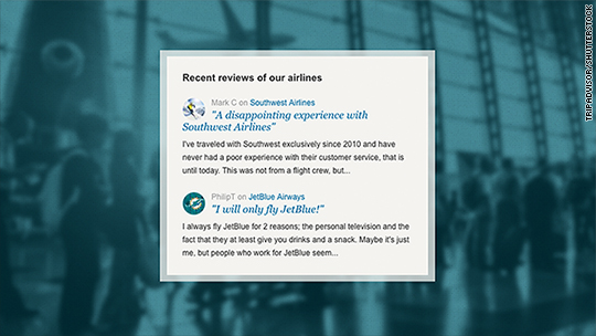 Had a bad flight? You can now tell the world on TripAdvisor