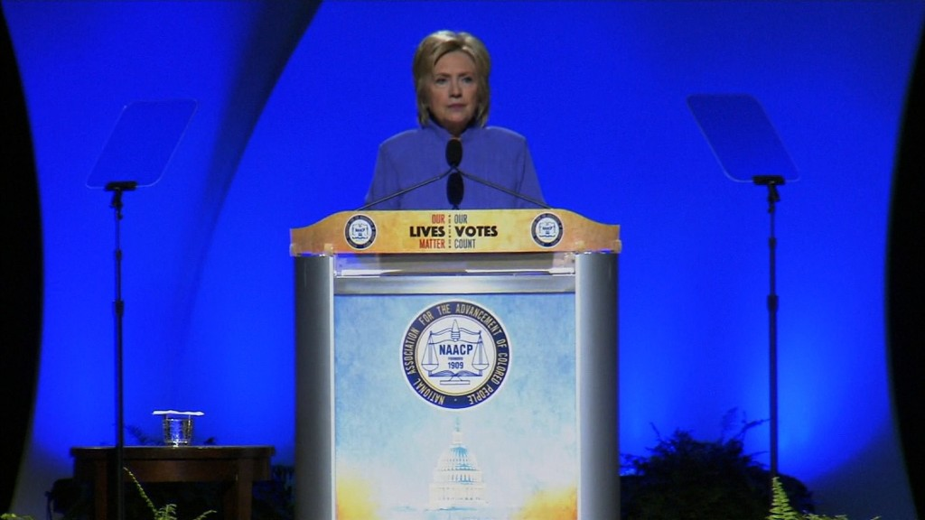 Clinton on police shootings: 'This madness has to stop'