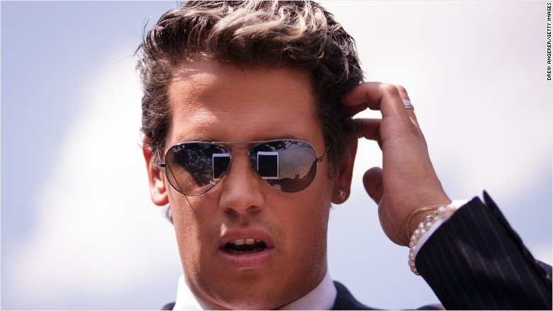 Milo Yiannopoulos' book deal canceled