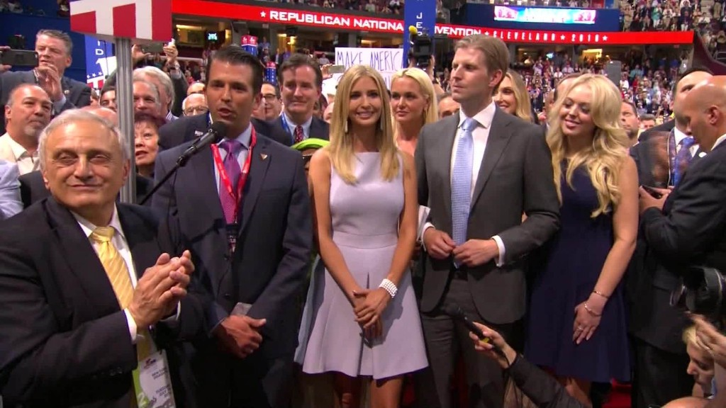 Donald Trump officially GOP nominee
