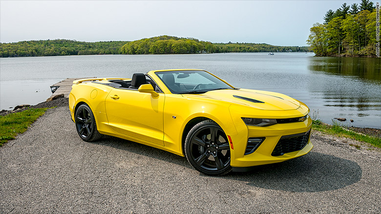 chevrolet camaro 5 convertibles you can afford cnnmoney. Black Bedroom Furniture Sets. Home Design Ideas