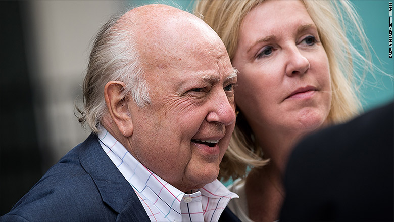 Roger Ailes' next project? A book