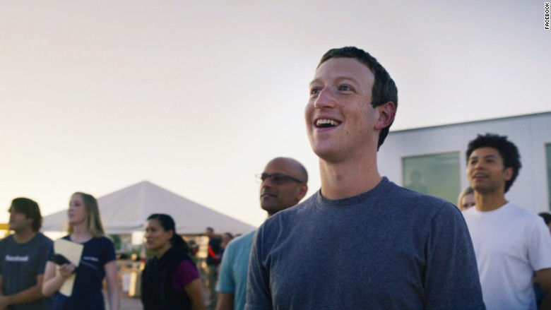 Zuckerberg Aquila smile