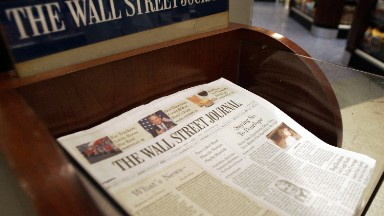 Wall Street Journal's tough week ends with departure of top editor