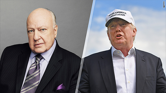 Ailes, Trump have been counseling each other over the past week