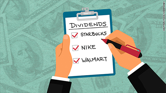 Show me the money! Dividends are all the rage