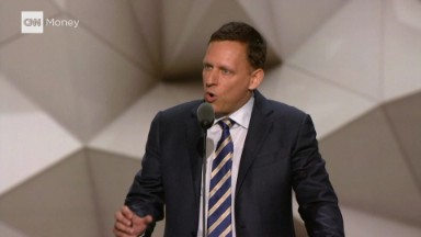Highlights from Peter Thiel's speech at the RNC