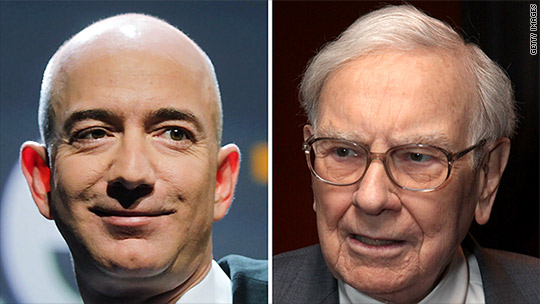 Jeff Bezos is now richer than Warren Buffett