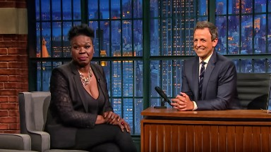 Leslie Jones talks Twitter trolls with Seth Meyers