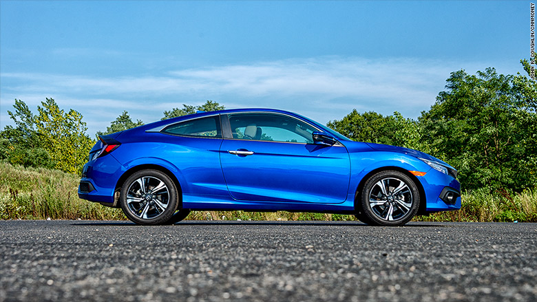 honda civic coupe great looking cars on a budget cnnmoney. Black Bedroom Furniture Sets. Home Design Ideas