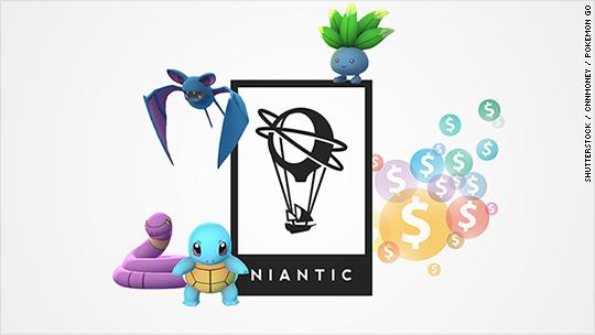 Pokemon Go startup is worth $3.65 billion