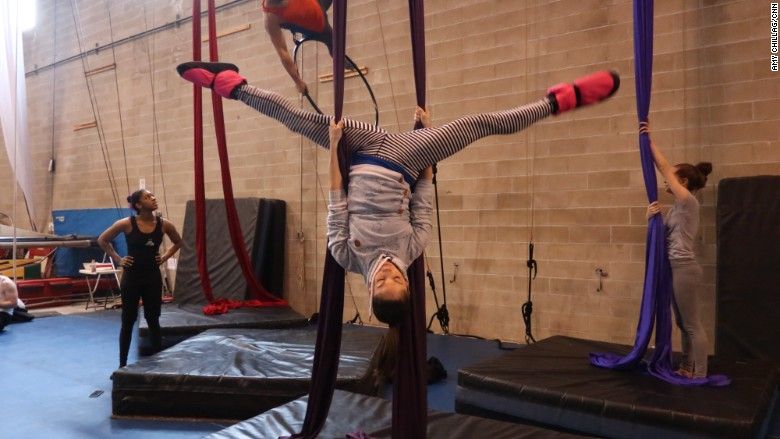 Circus Warehouse Silks
