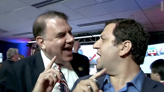 Rep. Alan Grayson has heated altercation with reporter