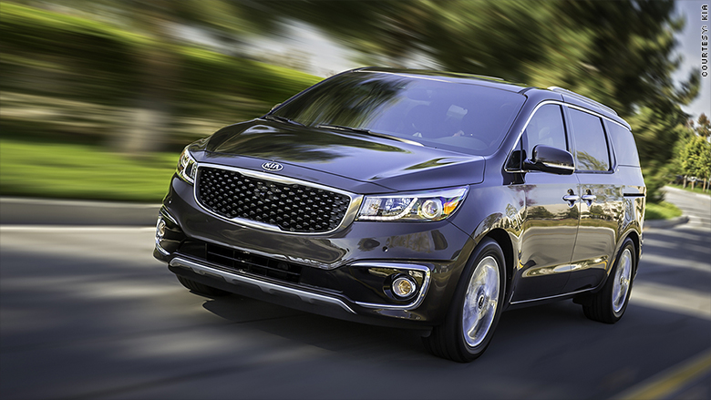 best loved cars jd power kia sedona