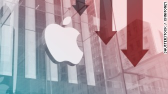 apple earnings down