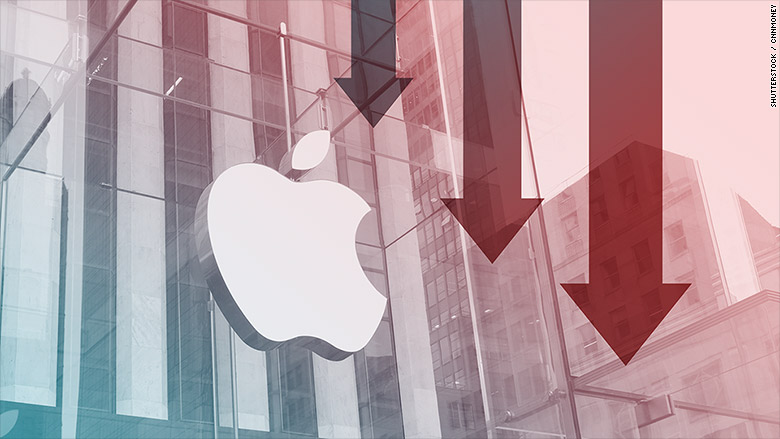 Apple sales fall for second straight quarter